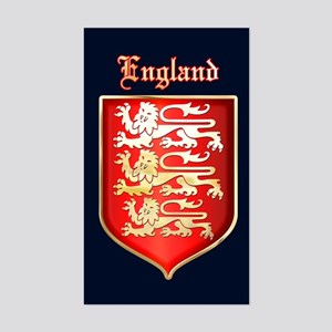 The Royal Arms of England Sticker (Rectangle)
