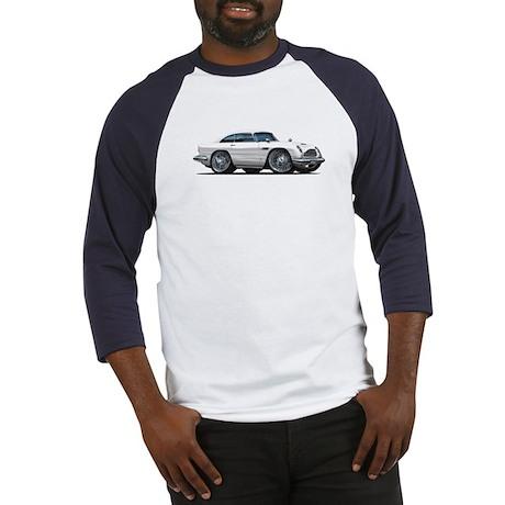DB5 White Car Baseball Jersey