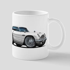 DB5 White Car Mug