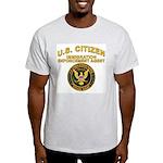 Citizen Border Patrol - Ash Grey T-Shirt