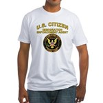 Citizen Border Patrol - Fitted T-Shirt