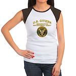Citizen Border Patrol - Women's Cap Sleeve T-Shir