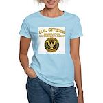 Citizen Border Patrol - Women's Pink T-Shirt