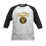 Citizen Border Patrol - Kids Baseball Jersey