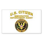 Citizen Border Patrol - Rectangle Sticker