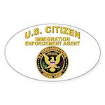 Citizen Border Patrol - Oval Sticker
