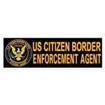 Citizen Border Patrol - Bumper Sticker