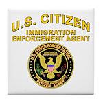 Citizen Border Patrol - Tile Coaster