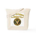 Citizen Border Patrol -  Tote Bag