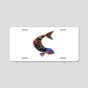 FLUID MOTIONS Aluminum License Plate