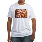 Bacon: Powerful Stuff Fitted T-Shirt