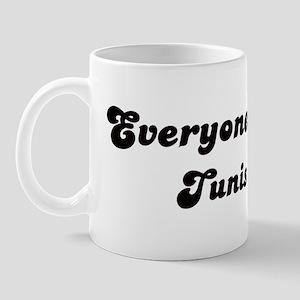 Loves Tunis Girl Mug