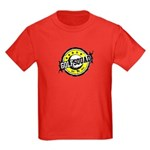 Golf Squad Kids Dark T-Shirt (Pocket & Back lo