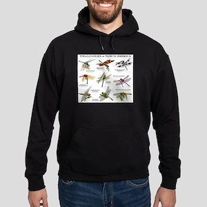 Dragonflies of North America Hoodie (dark)