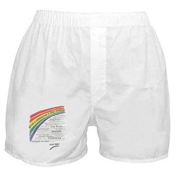 Famous Gays Shirt Boxer Shorts