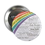 "Famous Gays Shirt 2.25"" Button (100 pack)"