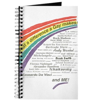 Famous Gays Shirt Journal