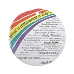 Famous Gays Shirt Ornament (Round)