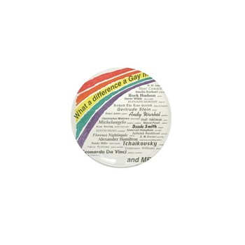 Famous Gays Shirt Mini Button (10 pack)