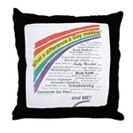 Famous Gays Shirt Throw Pillow