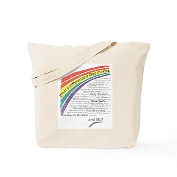 Famous Gays Shirt Tote Bag