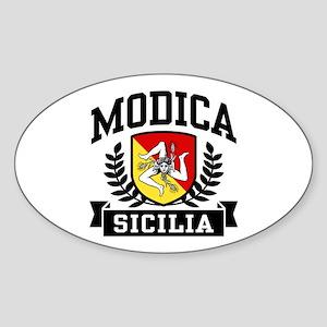 Modica Sicilia Sticker (Oval)