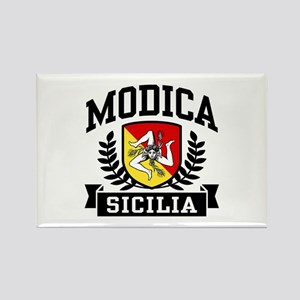 Modica Sicilia Rectangle Magnet