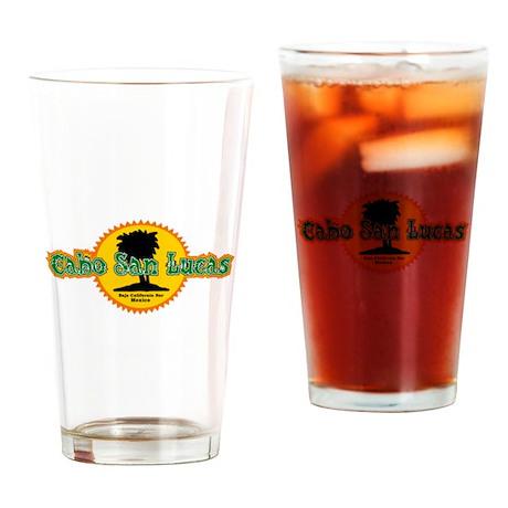 Cabo San Lucas Sun Drinking Glass
