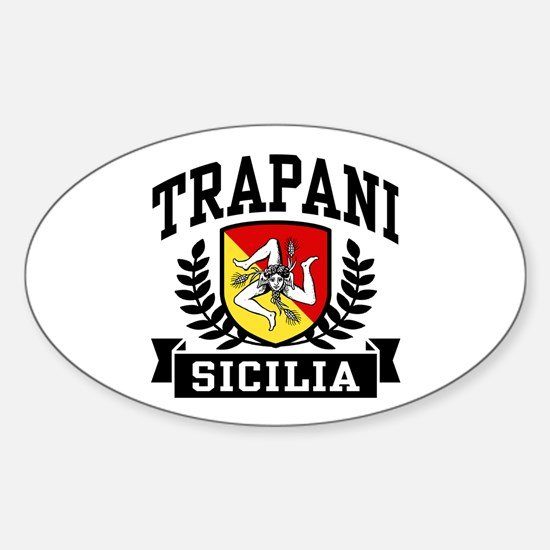 Trapani Sicilia Sticker (Oval)