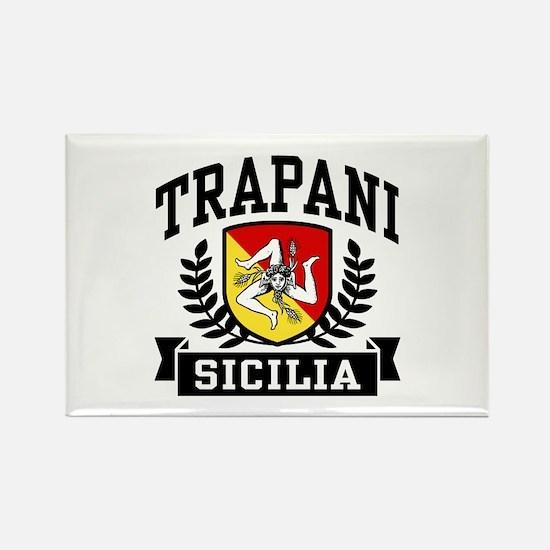 Trapani Sicilia Rectangle Magnet