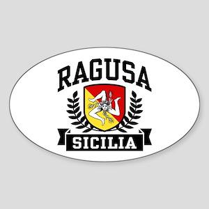Ragusa Sicilia Sticker (Oval)