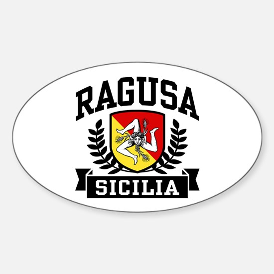 Ragusa Sicilia Sticker (Oval)