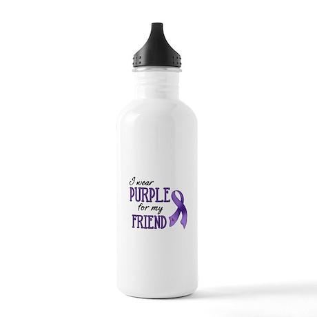 Wear Purple - Friend Stainless Water Bottle 1.0L