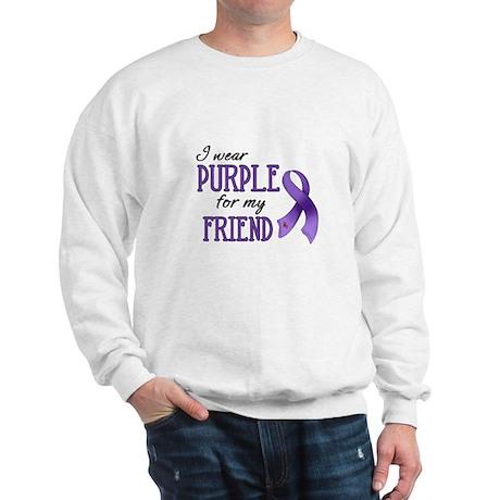 Wear Purple - Friend Sweatshirt