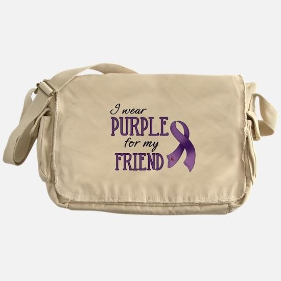 Wear Purple - Friend Messenger Bag