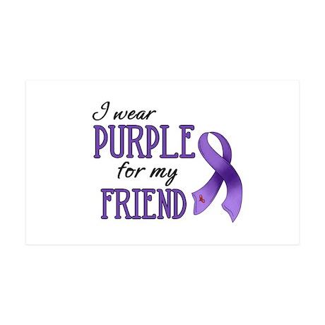 Wear Purple - Friend 38.5 x 24.5 Wall Peel