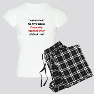 awesome community health wo Women's Light Pajamas