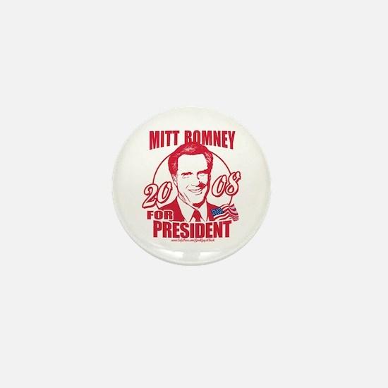 Republican Red Romney Mini Button