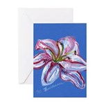 Floral Themes Greeting Card