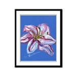 Floral Themes Framed Panel Print