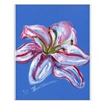 Floral Themes Small Poster