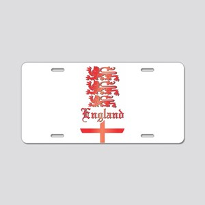England, UK Aluminum License Plate