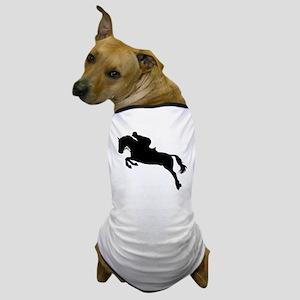 Horse show jumping Dog T-Shirt