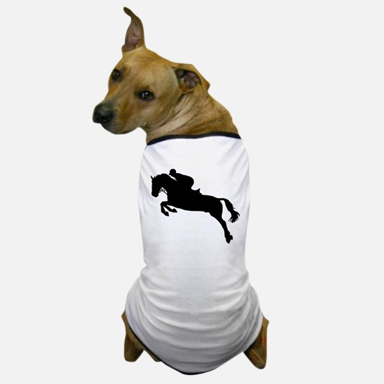 Horse show jumping Dog T-Shirt