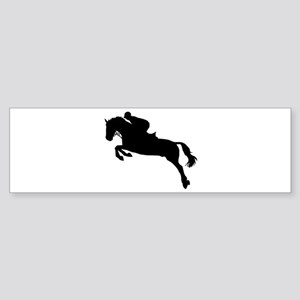 Horse show jumping Sticker (Bumper)