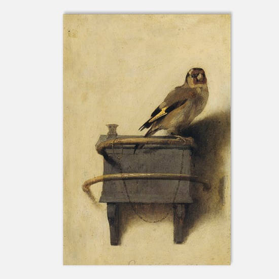 Cute Goldfinches Postcards (Package of 8)
