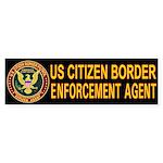 Immigration Agent D30 - Bumper Sticker