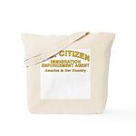 Immigration Agent D30 -  Tote Bag
