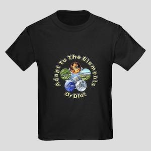 Adapt or Die Kids Dark T-Shirt