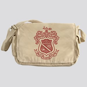 Phi Kappa Psi Fraternity Crest in Re Messenger Bag